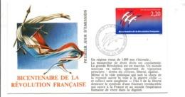REVOLUTION FRANCAISE - LES VILLES PREFECTURES FETENT LE BICENTENAIRE - CHALONS SUR MARNE MARNE - French Revolution