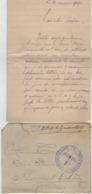 TB 2661 - Lettre En Franchise Militaire - Dépot D'Eclopés De BAINVILLE - SUR - MADON Pour St LAURENT - LES - MACON - Guerra De 1914-18