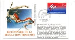 REVOLUTION FRANCAISE - LES VILLES PREFECTURES FETENT LE BICENTENAIRE - CHAUMONT HAUTE MARNE - French Revolution