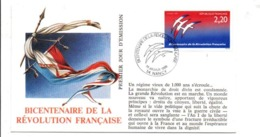 REVOLUTION FRANCAISE - LES VILLES PREFECTURES FETENT LE BICENTENAIRE - NANCY MEURTHE ET MOSELLE - French Revolution