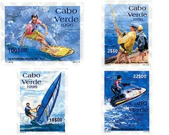 Ref. 56865 * MNH * - CAPE VERDE. 1996. NAUTIC SPORTS . DEPORTES NAUTICOS - Kap Verde