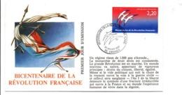 REVOLUTION FRANCAISE - LES VILLES PREFECTURES FETENT LE BICENTENAIRE - VANNES MORBIHAN - French Revolution