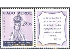 Ref. 298372 * MNH * - CAPE VERDE. 1951. EMITIDA CON MOTIVO DE LA CLAUSURA DEL AÑO SANTO - Kap Verde