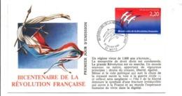 REVOLUTION FRANCAISE - LES VILLES PREFECTURES FETENT LE BICENTENAIRE - METZ MOSELLE - French Revolution