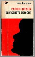 Prisma Detective 61: Echtgenote Gezocht (Patrick Quentin) (Het Spectrum 1966) - Détectives & Espionnages