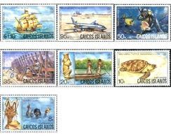 Ref. 28038 * MNH * - CAICOS. 1983. DIFFERENT CONTENTS . MOTIVOS VARIOS - Turcas Y Caicos