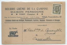 Beurre Crème De La Campine, Maison Persoons, Vorst (Campine) Tessenderloo - Laakdal