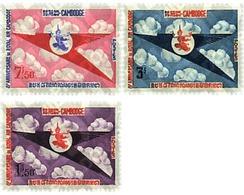 Ref. 172419 * MNH * - CAMBODIA. 1964. ROYAL AIR CAMBODGE AIRLINES . LINEA AEREA ROYAL AIR CAMBODGE - Kambodscha