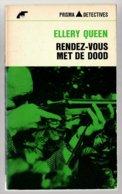 Prisma Detective 20: Rendez-vous Met De Dood (Ellery Queen) (Het Spectrum 1965) - Détectives & Espionnages