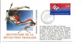 REVOLUTION FRANCAISE - LES VILLES PREFECTURES FETENT LE BICENTENAIRE - STRASBOURG BAS RHIN - French Revolution