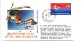 REVOLUTION FRANCAISE - LES VILLES PREFECTURES FETENT LE BICENTENAIRE - COLMAR HAUT RHIN - French Revolution