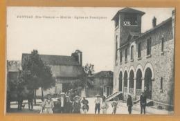 87 - Haute Vienne - Feytiat - Mairie , église Et Presbytere - France