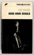Prisma Detective 24: Dood Door Schuld (Leo Bruce) (Het Spectrum 1965) - Détectives & Espionnages