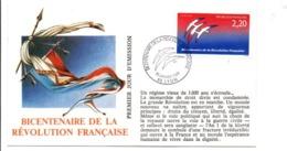 REVOLUTION FRANCAISE - LES VILLES PREFECTURES FETENT LE BICENTENAIRE - LYON RHONE - French Revolution