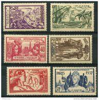 Saint Pierre Et Miquelon (1937) N 160 à 165 * (charniere) - Neufs