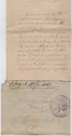 TB 2663 - Lettre En Franchise Militaire - Dépot D'Eclopés De BAINVILLE - SUR - MADON Pour St LAURENT - LES - MACON - Guerra De 1914-18