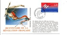 REVOLUTION FRANCAISE - LES VILLES PREFECTURES FETENT LE BICENTENAIRE - VESOUL HAUTE SAONE - French Revolution