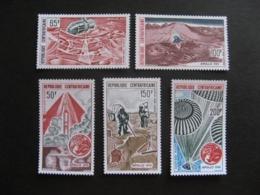 République Centrafricaine : TB Série  PA N° 124 Au PA N° 128. Neufs XX . - Centrafricaine (République)