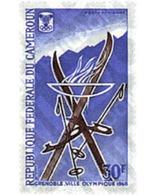 Ref. 70577 * MNH * - CAMEROUN. 1967. X OLYMPIC WINTER GAMES. GRENOBLE 1968 . 10 JUEGOS OLIMPICOS  INVIERNO GRENOBLE 1968 - Winter 1968: Grenoble