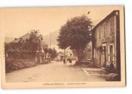 CPA 46 Laval De Cère L'avenue De La Gare - France