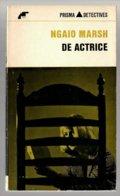 Prisma Detective 34: De Actrice (Ngaio Marsh) (Het Spectrum 1965) - Détectives & Espionnages