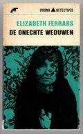 Prisma Detective 36: De Onechte Weduwen (Elizabeh Ferrars) (Het Spectrum 1965) - Détectives & Espionnages