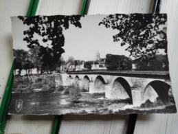 CPSM. SAINT FLORENT SUR CHER - LE PONT - 1962 Timbre écrite  - - Saint-Florent-sur-Cher