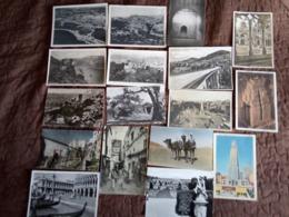 37 Cartes  Etrangere - Postcards