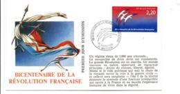 REVOLUTION FRANCAISE - LES VILLES PREFECTURES FETENT LE BICENTENAIRE - MACON SAONE ET LOIRE - French Revolution