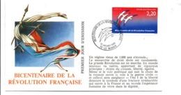 REVOLUTION FRANCAISE - LES VILLES PREFECTURES FETENT LE BICENTENAIRE - LE MANS SARTHE - French Revolution