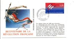 REVOLUTION FRANCAISE - LES VILLES PREFECTURES FETENT LE BICENTENAIRE - CHAMBERY SAVOIE - French Revolution