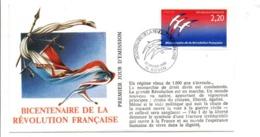 REVOLUTION FRANCAISE - LES VILLES PREFECTURES FETENT LE BICENTENAIRE - ROUEN SEINE MARITIME - French Revolution