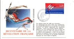 REVOLUTION FRANCAISE - LES VILLES FETENT LE BICENTENAIRE - VAUX LE PENIL SEINE ET MARNE - French Revolution