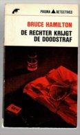 Prisma Detective 9: De Rechter Krijgt De Doodstraf (Bruce Hamilton) (Het Spectrum 1964) - Détectives & Espionnages