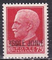 Isole Jonie, 1941 - 75c Soprastampato - Nr.7 MNH** - Isole Jonie