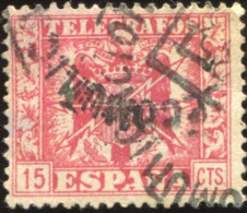 Pays : 166,7 (Espagne)          Yvert Et Tellier N° : Tg  87 (o) - Télégraphe