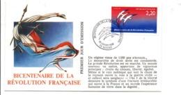 REVOLUTION FRANCAISE - LES VILLES FETENT LE BICENTENAIRE - NIORT DEUX SEVRES - Franse Revolutie