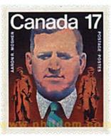 Ref. 58015 * MNH * - CANADA. 1981. CENTENARY OF AARON R. MOSHER . CENTENARIO DE AARON R. MOSHER - Eisenbahnen
