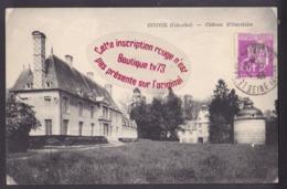 Q1781 - GOUVIX Chateau D'Outrelaise - Calvados - Frankreich