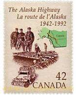 Ref. 43115 * MNH * - CANADA. 1992. 50th ANNIVERSARY OF THE  ALASKA HIGHWAY . 50 ANIVERSARIO DE LA AUTOPISTA DE ALASKA - Trasporti