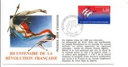 REVOLUTION FRANCAISE - LES VILLES FETENT LE BICENTENAIRE - TOULON VAR - French Revolution