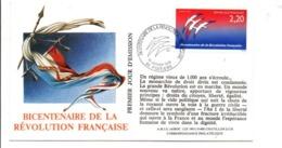 REVOLUTION FRANCAISE - LES VILLES PREFECTURES FETENT LE BICENTENAIRE - POITIERS VIENNE - French Revolution