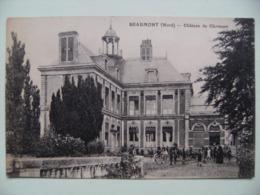 CPA 59 Beaumont - L'Ecole Privée Du Château De Clermont - Vue Des Eléves Et Leurs Professeurs   A Voir ! - France