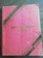 Schwaneberger Album Uit 1938 Met Postzegels Deutches Reich - Timbres