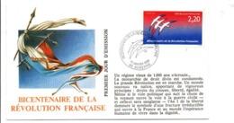REVOLUTION FRANCAISE - LES VILLES PREFECTURES FETENT LE BICENTENAIRE - AUXERRE YONNE - French Revolution