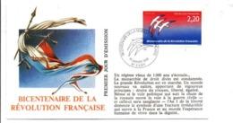 REVOLUTION FRANCAISE - LES VILLES PREFECTURES FETENT LE BICENTENAIRE - EVRY ESSONNE - French Revolution
