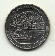 2014 - Stati Uniti Quarter Dollar - Colorado   S - 2010-...: National Parks