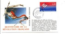 REVOLUTION FRANCAISE - LES VILLES PREFECTURES FETENT LE BICENTENAIRE - CRETEIL VAL DE MARNE - French Revolution