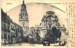 MURCIA .... TORRE Y PORTADA DE LA CATEDRAL - Espagne