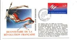 REVOLUTION FRANCAISE - LES VILLES FETENT LE BICENTENAIRE - BASSE TERRE - French Revolution
